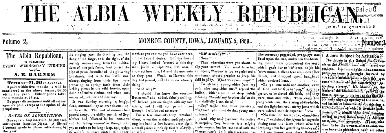 Historical Monroe County Newspapers Online