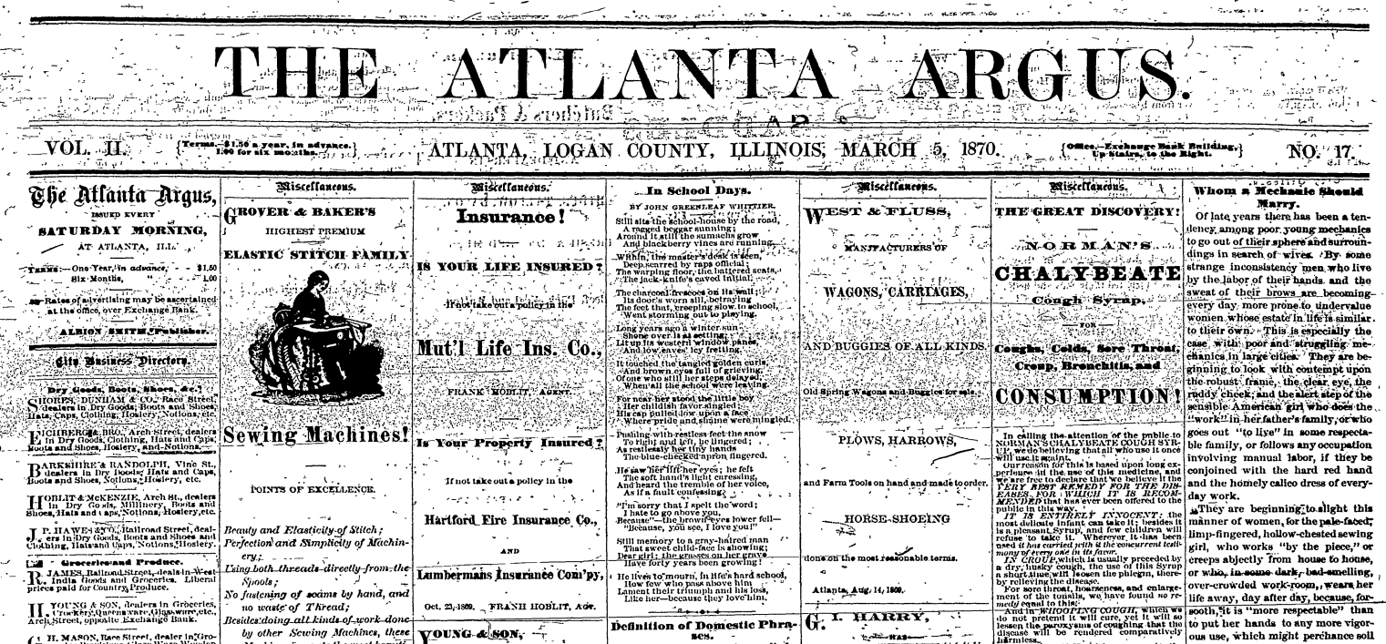 Advantage in the News: Atlanta library digitizes yearbooks, newspapers