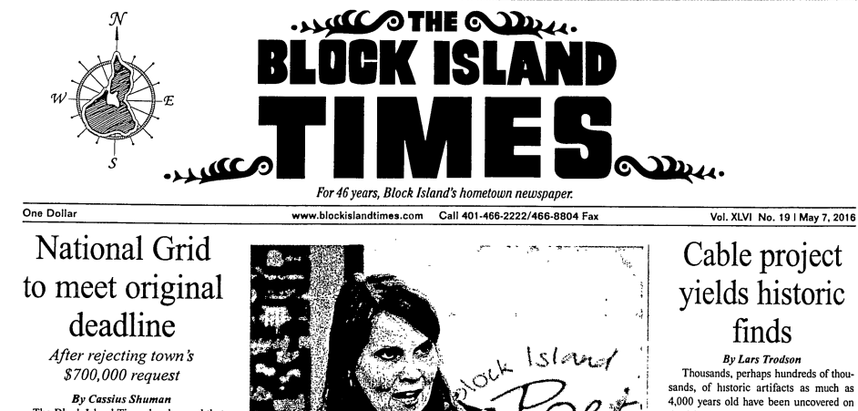 """The Island Free Library Digitizing """"The Block Island Collection"""""""
