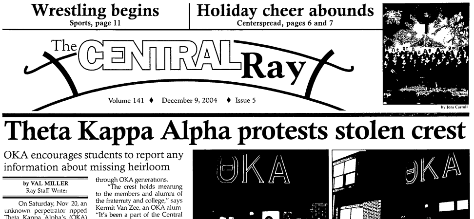 125 Years Of Central College Student News Available Online