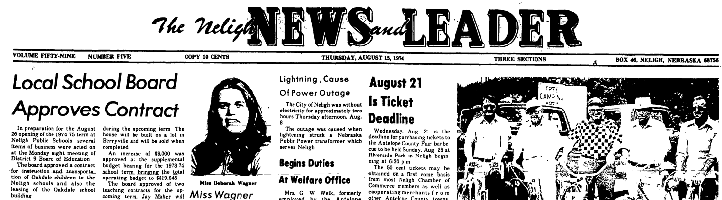 More Than 100 Years Of Neligh Paper Digitalized