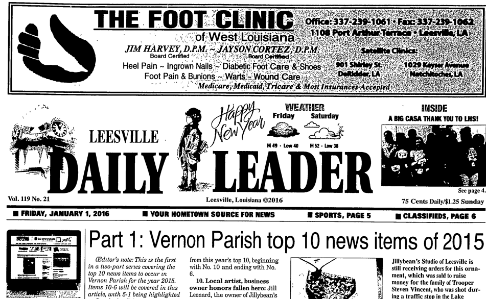 The Vernon Parish Newspaper Access Project