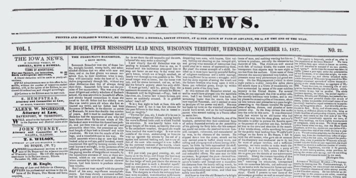 Get Involved: Iowa Newspapers Yet To Be Preserved