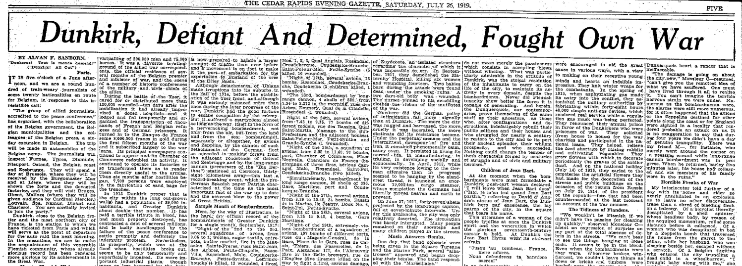 Historical Newspaper Research